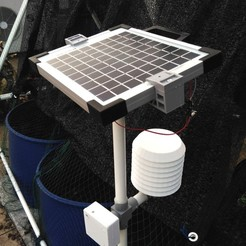 Download free 3D printing files IoT Weather Station, AppliedTechnologyLab