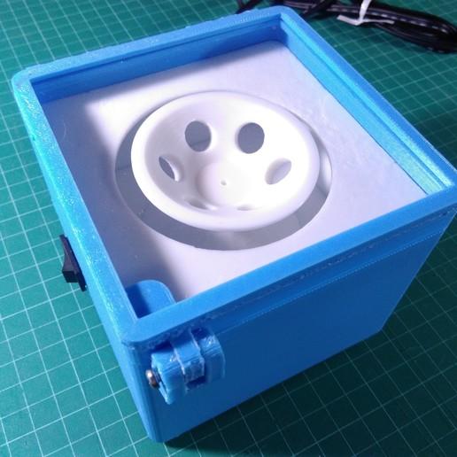 Download free STL files DIYbio Centrifuge V 3.0, AppliedTechnologyLab