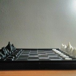 Descargar Modelos 3D para imprimir gratis Tablero de ajedrez (Makruk de estilo tailandés), AppliedTechnologyLab