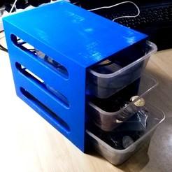 Télécharger modèle 3D gratuit Système de tiroirs empilables, AppliedTechnologyLab