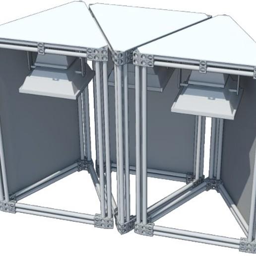 Download free STL file Modular Indoor Gardening System • 3D print object, AppliedTechnologyLab