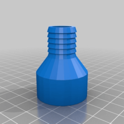 72f19e47d889860a4ec4995397e4e614.png Download free STL file Pump_Hose_Adapter • 3D printing template, rusty13jr