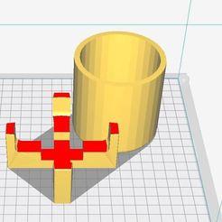 succulentPlanter_cylindrical4.jpg Download free STL file cylindrical succulent planter &flower pot  • 3D printable object, ogutverici