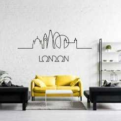 WhatsApp Image 2020-05-06 at 12.49.07.jpeg Download STL file Skyline London • 3D print design, Ruth_97