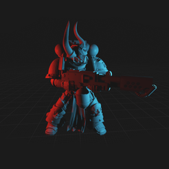 Download free 3D printer model Maelstrom Void Commando, dorkfactory