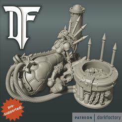 mother_of_demons.png Download STL file Mother of Demons • Template to 3D print, dorkfactory