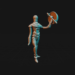 Download free STL files Super Blood Harvest Character, dorkfactory