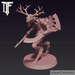 _dark_flayed_god.png Download STL file Dark Flayed God • Design to 3D print, dorkfactory