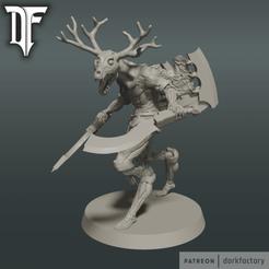 flayed_god_dark.png Download STL file Dark Flayed God • Design to 3D print, dorkfactory