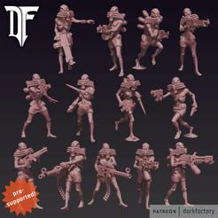 cultists_ps.png Télécharger fichier STL Le culte de la passerelle de la peur • Design imprimable en 3D, dorkfactory