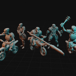Download free 3D model Raiders, dorkfactory