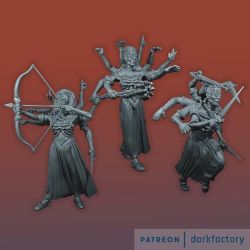 Descargar archivo STL El aquelarre de la araña • Modelo imprimible en 3D, dorkfactory