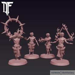 _psychos.png Download STL file The Master Psychics • 3D printer template, dorkfactory