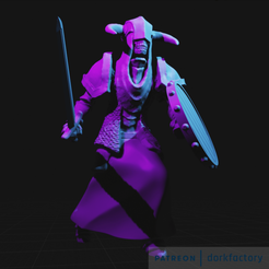 Download free 3D printer files Undead Guard, dorkfactory