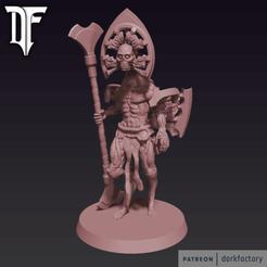 _light_flayed_god.png Download STL file LIGHT FLAYED GOD • 3D print object, dorkfactory