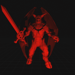 Download free 3D printing templates Son of a Demon King, dorkfactory