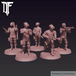 _anomaly_hunters.png Télécharger fichier STL Chasseurs d'anomalies • Design pour imprimante 3D, dorkfactory