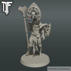 flayed_god_light.png Download STL file LIGHT FLAYED GOD • 3D print object, dorkfactory