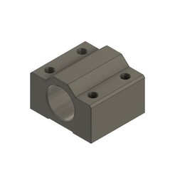Download free 3D print files LM8UU Bearing Block, Natsukawa