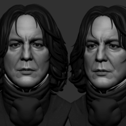 Download STL Severus Harry Potter for Print, pabloperdomo3