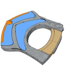 b4.jpg Download OBJ file Discovery 3 Hand Gun • 3D printer object, hubaumstark