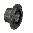 Download free STL files telescope adaptor F-mount, simongobert