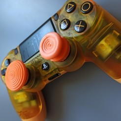 IMG_20200309_154303.jpg Download free GCODE file PS4 Grip joystick / Thumb Grips FPS Freek • 3D printable model, c0nnecTe
