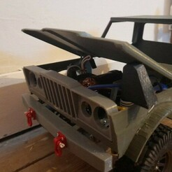jeep-1.jpg Download free STL file Jeep m715 doors • Design to 3D print, BritsFabrication