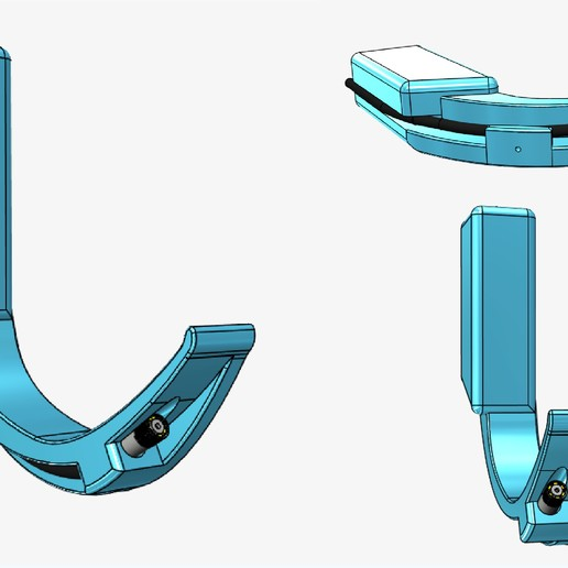 Videolaringoscopio (5).jpg Download free STL file Adult and Pediatric 3D Video Laryngoscope - 5.5mm - 7mm - 8mm + STEP • Design to 3D print, Checho3d