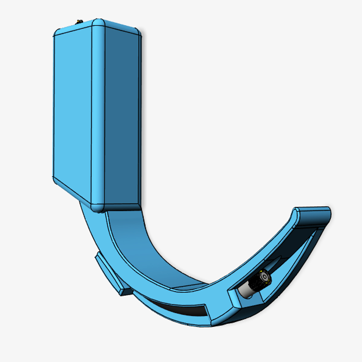 Videolaringoscopio (2).jpg Download free STL file Adult and Pediatric 3D Video Laryngoscope - 5.5mm - 7mm - 8mm + STEP • Design to 3D print, Checho3d