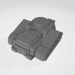 treads 2.png Download free STL file Marine Cannon Track • Template to 3D print, Grayphobia