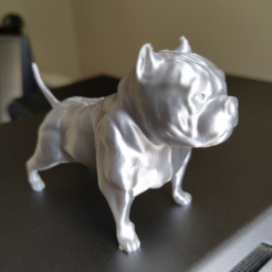 11.PNG Download STL file American Bully • 3D printing template, Materialis3D