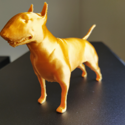 1.PNG Download STL file Bull terrier • 3D printer object, Materialis3D