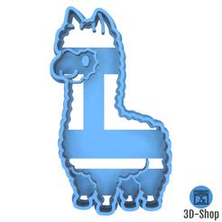 alpaga.png Télécharger fichier STL Emporte pièce Alpaga • Objet imprimable en 3D, 3dshop62