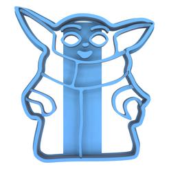 Télécharger fichier imprimante 3D Emporte pièce bébé yoda, 3dshop62