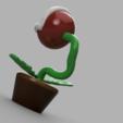 Download free OBJ file Mario Cart Piranha Plant • 3D printing template, quaddalone