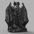 Download free STL file Gargoyle • 3D printer design, quaddalone
