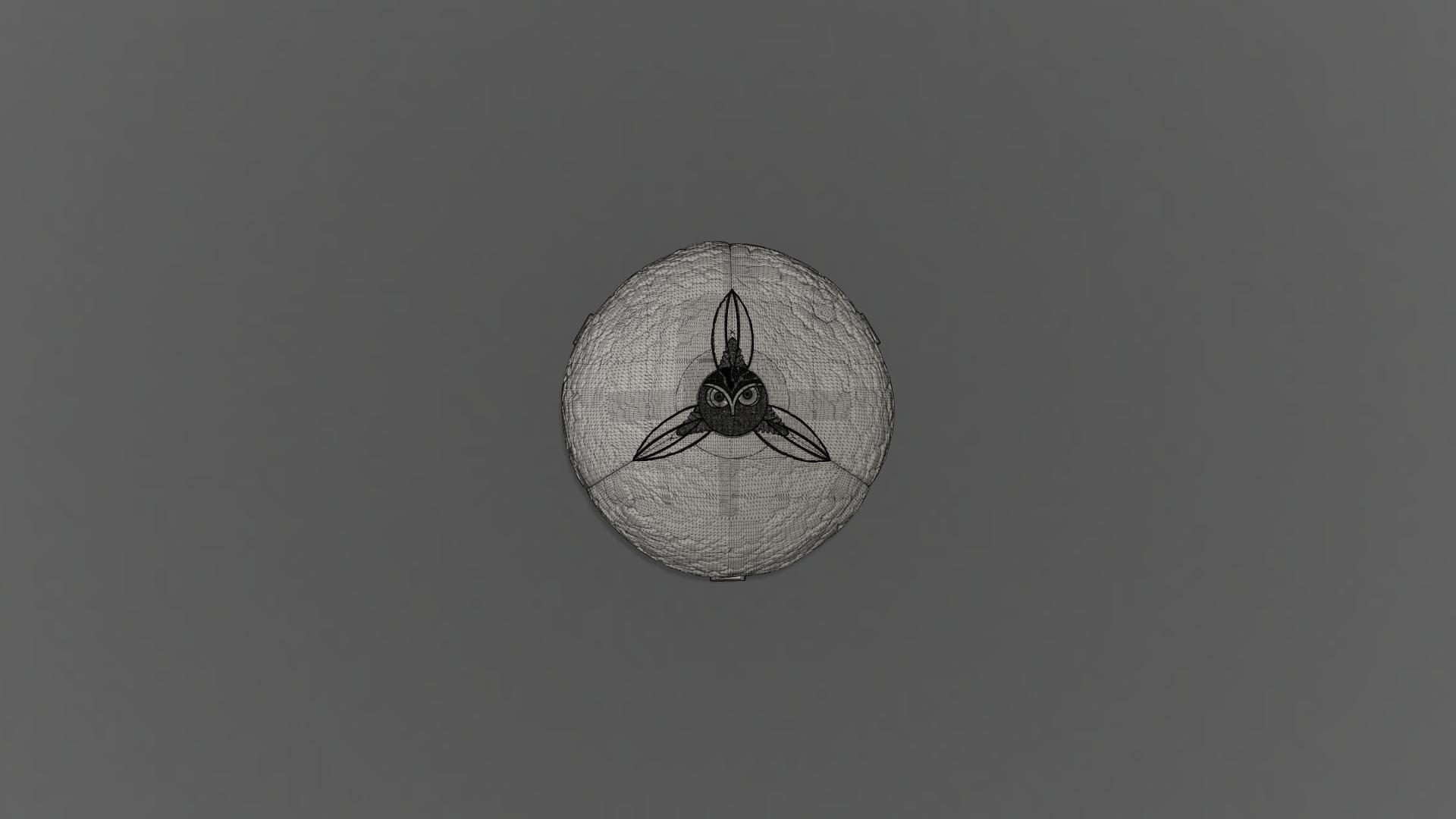 Harry Potter Egg(close_front).png Télécharger fichier OBJ gratuit Modèle d'impression 3D de Harry Potter et la Coupe de feu (Oeuf) • Objet à imprimer en 3D, quaddalone