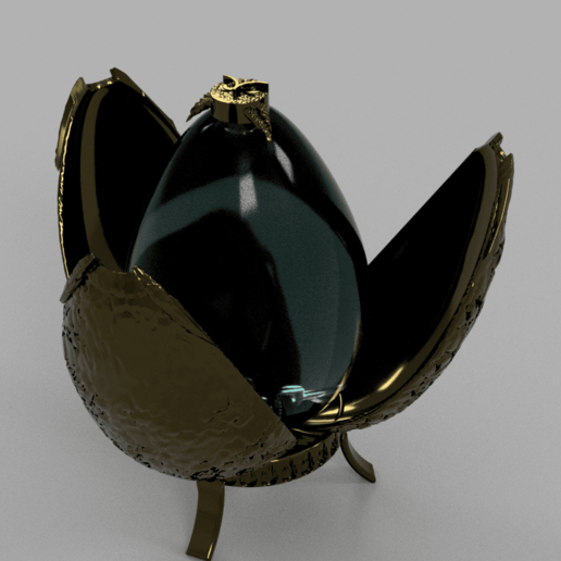Harry Potter Egg v2.png Télécharger fichier OBJ gratuit Modèle d'impression 3D de Harry Potter et la Coupe de feu (Oeuf) • Objet à imprimer en 3D, quaddalone