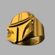 4.png Télécharger fichier OBJ gratuit Anneau mandalorien • Modèle imprimable en 3D, quaddalone