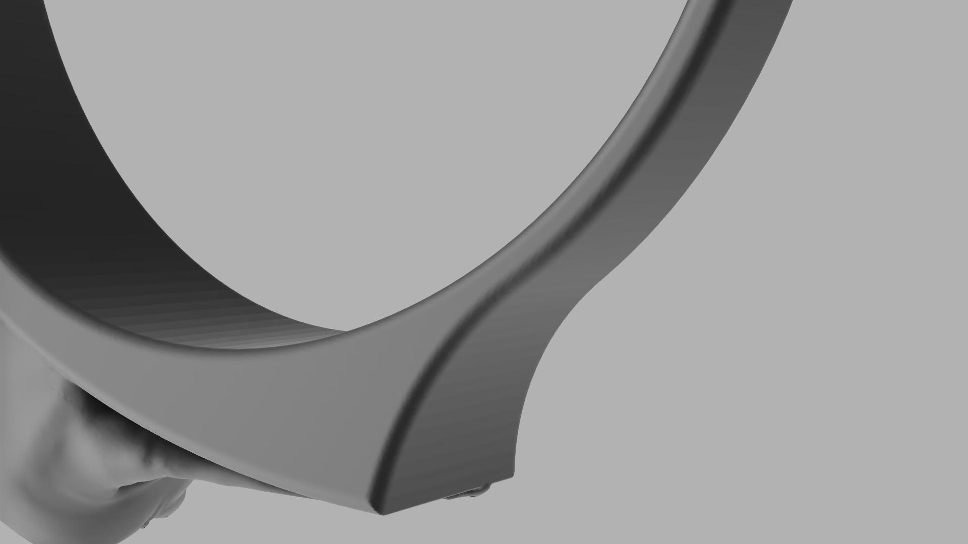 Baby_Yoda_Ring_17mm_Cut(FINAL)10.png Télécharger fichier STL gratuit Bébé Yoda Ring • Plan pour imprimante 3D, quaddalone