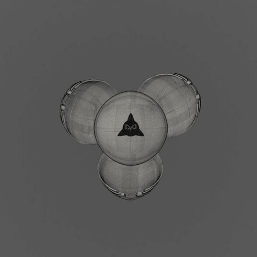 Harry Potter Egg(open_top).png Télécharger fichier OBJ gratuit Modèle d'impression 3D de Harry Potter et la Coupe de feu (Oeuf) • Objet à imprimer en 3D, quaddalone