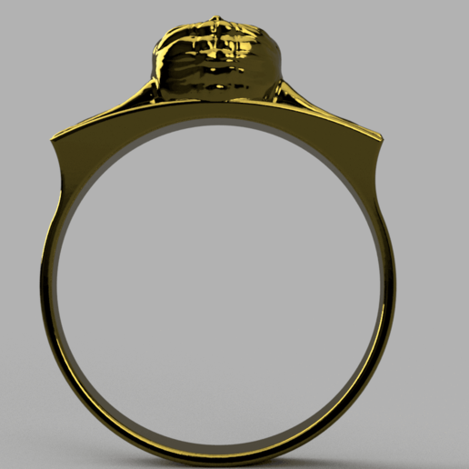 Baby_Yoda_Ring_17mm_Cut(FINAL)3.png Télécharger fichier STL gratuit Bébé Yoda Ring • Plan pour imprimante 3D, quaddalone