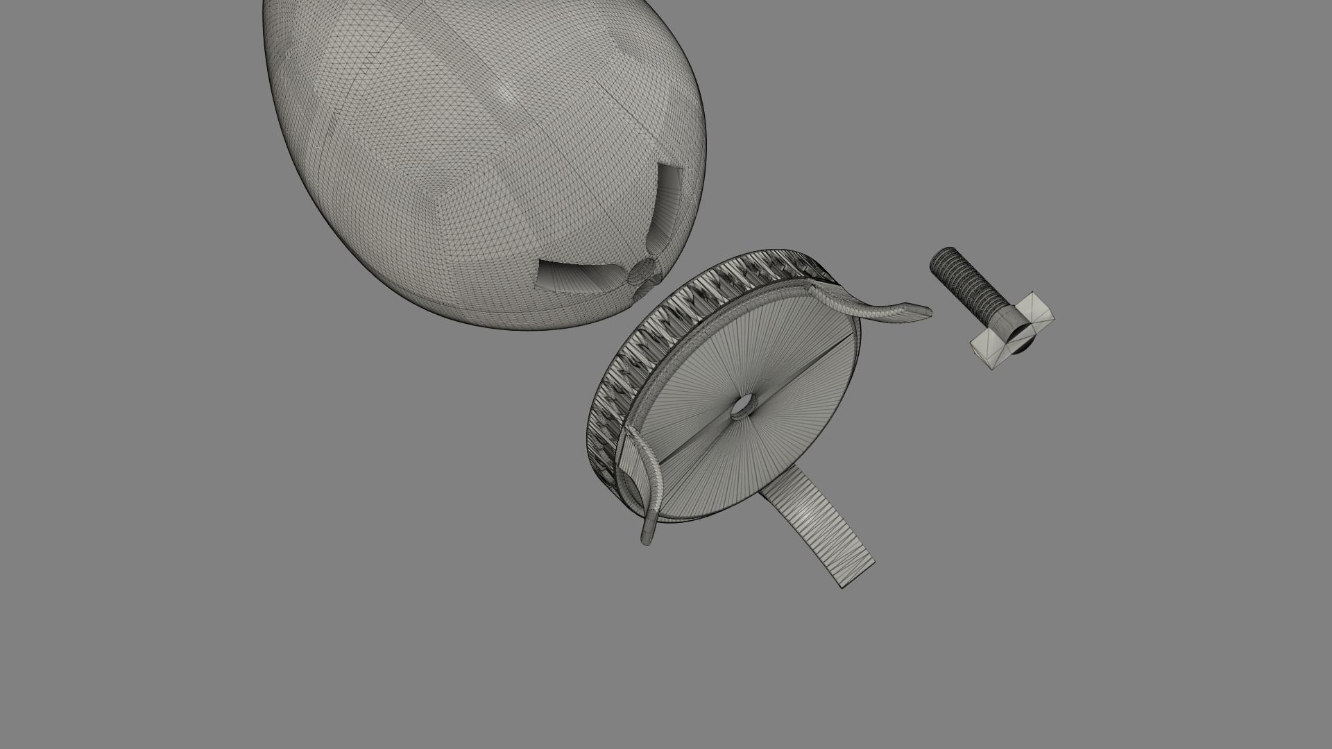 Harry Potter Egg v5.png Télécharger fichier OBJ gratuit Modèle d'impression 3D de Harry Potter et la Coupe de feu (Oeuf) • Objet à imprimer en 3D, quaddalone