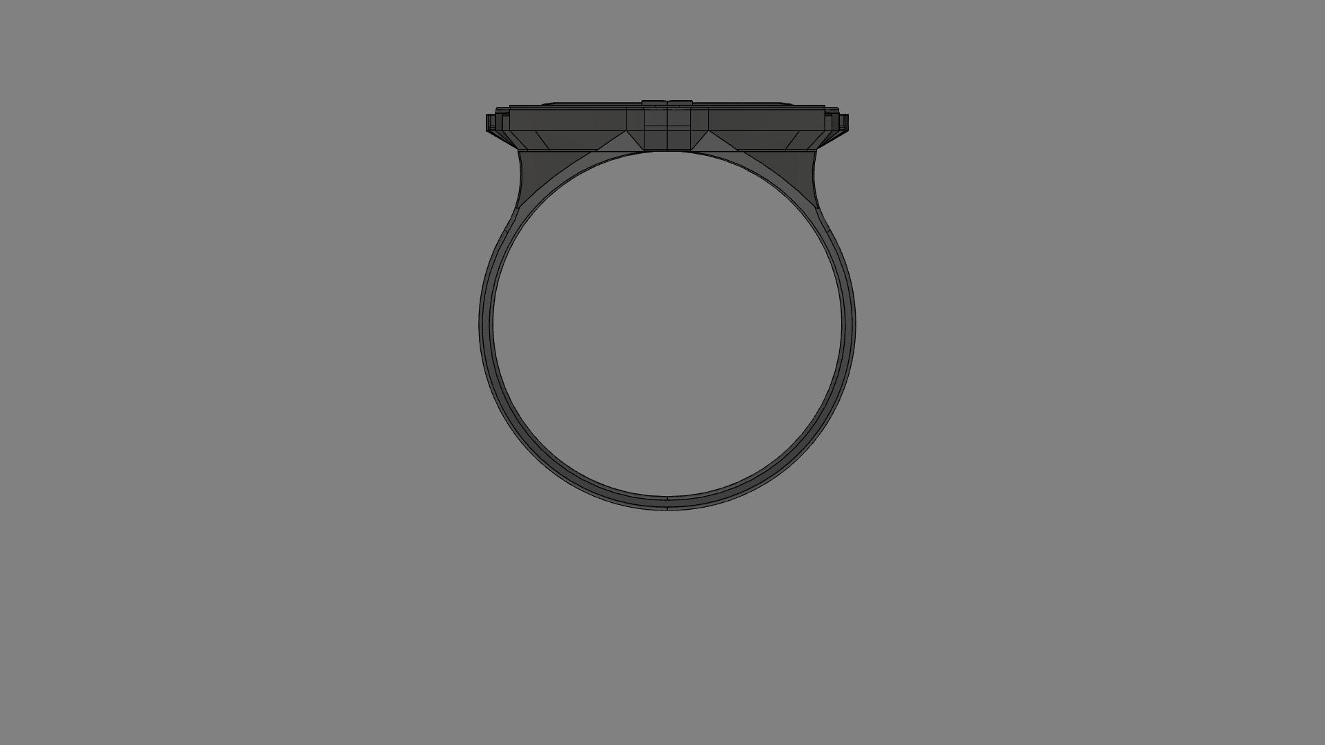 12.png Télécharger fichier OBJ gratuit Anneau mandalorien • Modèle imprimable en 3D, quaddalone