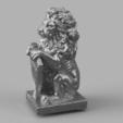 Télécharger fichier STL gratuit Lion • Modèle imprimable en 3D, quaddalone
