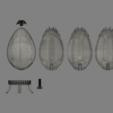 Harry Potter Egg(Detail).png Télécharger fichier OBJ gratuit Modèle d'impression 3D de Harry Potter et la Coupe de feu (Oeuf) • Objet à imprimer en 3D, quaddalone
