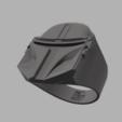 3.png Télécharger fichier OBJ gratuit Anneau mandalorien • Modèle imprimable en 3D, quaddalone