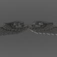 Télécharger fichier OBJ gratuit Ailes • Objet imprimable en 3D, quaddalone