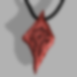 Download 3D printer designs Saurfang Necklace, quaddalone